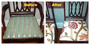 How To Upholster A Dining Room Chair Recover Dining Room Chairs Photo Of How To Reupholster A