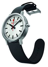 mondaine stop2go swiss railways watch with 2 second delay