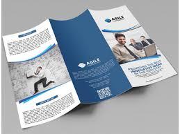 tri fold brochure contemporary medical tri fold brochure template