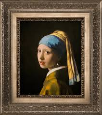 girl pearl earing creating a story around girl with a pearl earring verus