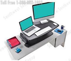 Computer Desk Stand Adjustable Height Desk Platforms Sit And Stand Up Workstations