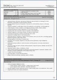 resume format experienced banking professional certifications professional cv format for experienced