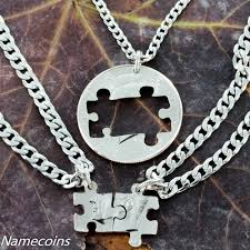 best friends puzzle necklace images 3 best friend or family necklace coin puzzle pieces namecoins jpg