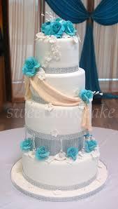 wedding cake ottawa teal roses wedding cake ottawa wedding cakes