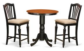 3 piece counter height table set east west eden 3 piece counter height pub table set reviews wayfair