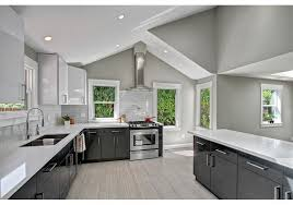 gray kitchen countertops with white cabinets top 7 amazing kitchen countertop ideas for your grey