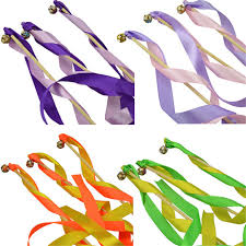 ribbon sticks 20pcs twirling streamers wedding favor ribbon sticks wands with