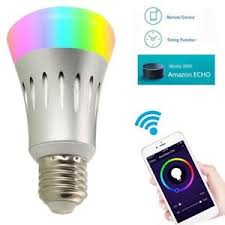 light bulbs that work with amazon echo smart led light bulb alexa voice control l wifi app remote amazon