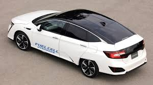 what is the luxury car for honda honda s hydrogen powered vehicle feels more like a car