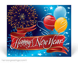 new year post cards 2017 happy new year postcards pc7512 harrison greetings