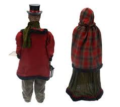 2 dickens carolers by valerie page 1 qvc
