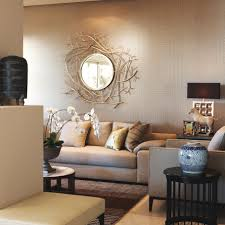 interior modern african theme living room with animal wallpaper
