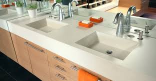 bathroom vanity concrete designs for bathroom vanities counters