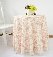 wedding linens for sale hot sale pastoral style high quality crochet tablecloth