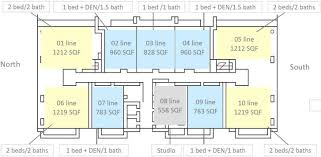 floors plans the bond brickell condo floor plans