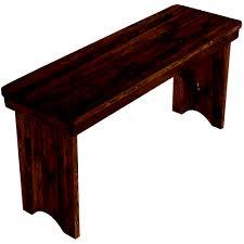 12x96 farmhouse table bench barn wood brown