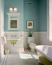 clawfoot bathtub in bathroom traditional with exterior paint