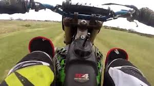 kx450f vs kx250f drag racing dirt bike warz youtube