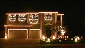 The Nightmare Before Christmas Home Decor Dubstep Light Show This Is Halloween Youtube