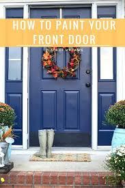 Metal Paint Exterior - front doors my summer front door 2013 notice that i just