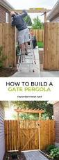 How To Build A Simple Pergola by Best 25 Diy Gate Ideas On Pinterest Diy Baby Gate Dog Gates
