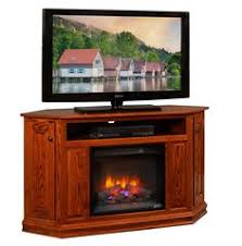 corner tv cabinet with electric fireplace amish cascadia corner electric fireplace tv stand electric