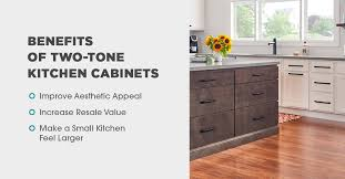 top cabinets different color than bottom everything you need to about two tone kitchen cabinets