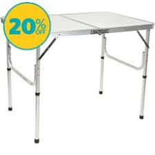 Hi Gear Folding C Bed Cing Tables Outdoor Folding Tables Go Outdoors
