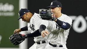 aaron judge leaves aaron hicks hanging during yankees postgame