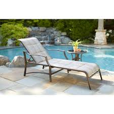 Pool Chaise Lounge Hampton Bay Statesville Padded Patio Chaise Lounge Fls70310 The