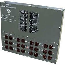 24 light master controller by cap mlc 24 planet