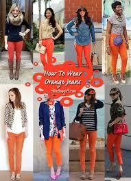 Best Colors With Orange Best 25 Orange Pants Ideas On Pinterest Orange Jeans