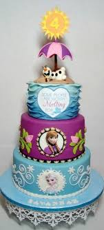 themed cake decorations 21 disney frozen birthday cake ideas and images my happy