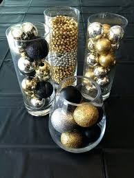 black and white centerpieces white and gold centerpieces white gold wedding decoration for