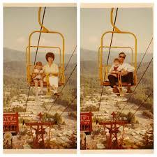 Chair Lift In Gatlinburg Vintage Gatlinburg Tn 1966 Skylift Both My Husband And Brother