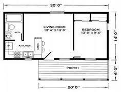 Small Guest House Floor Plans 14x40 Cabin Floor Plans Tiny House Pinterest Cabin Floor