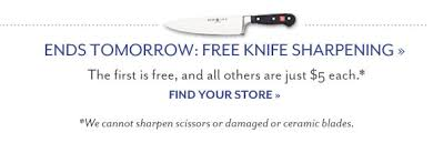 sur la table knife sharpening free sur la table clearance sale up to 80 off 100s of items milled
