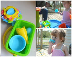Water Table Toddler Water Table Fun Therapy Bloggers Favorite Summer Toys Blog Hop