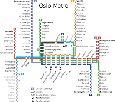 Berlin Metro Map by T Bane Oslo Metro Map Norway