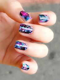 distressed graffiti nail art u2013 jolene tay