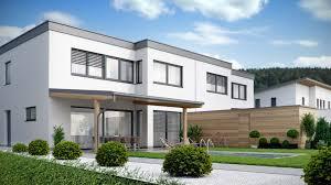 modern duplex house in austria viscato modern semi detached