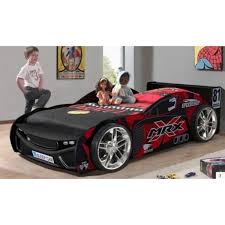kid car twin race car bed brand red race car bedding set for boy teens