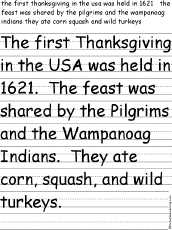 Story About Thanksgiving Thanksgiving Crafts Worksheets And Activities