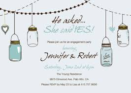 country rustic jars engagement invitations ewei016 as