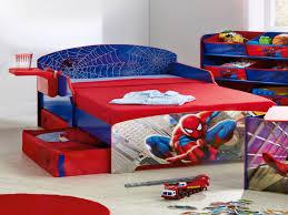 Boys Rug Bedroom Decorating Spiderman Storage Oak Laminate Flooring Round
