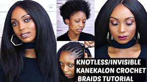 what is the best kanekalon hair for crochet braids crochet braids with kanekalon hair tutorial knotless invisible