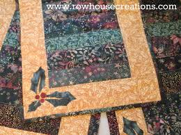 table runner row house creations