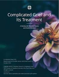 Grief Worksheets Manual U0026 Other Tools The Center For Complicated Grief
