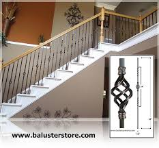 stair building material iron baluster iron stair parts stair