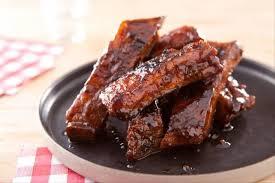 cuisiner travers de porc recette de bbq ribs travers de porc confits aux épices facile et